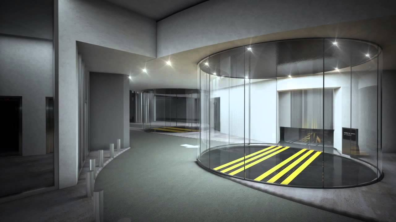 Porsche Design Tower Miami Condo Updated Car Elevator Sequence Youtube