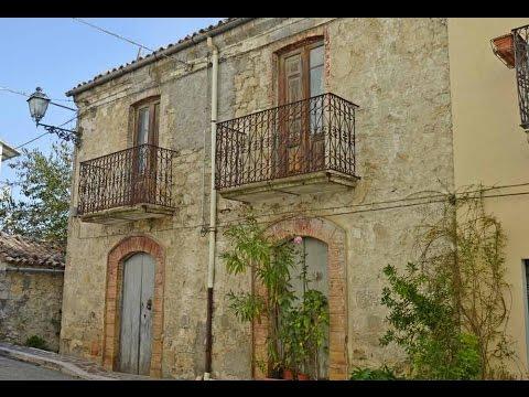 Casa antica in pietra da ristrutturare palmoli abruzzo for Log e piani di casa in pietra