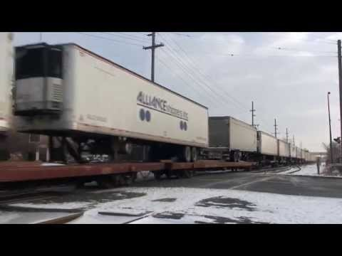 CSX Garrett and Barr Subdivisions in Northwest Indiana - Trackside Travels HD 1080p