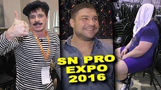 Юрий Белкин готов поспорить с Эдди Холлом, а Русский Кошмар вернуться в Америку SN PRO EXPO 2016
