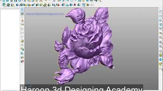 Flower Designing in Powershape 2019