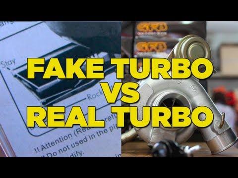 Fake Turbo VS Real Turbo Sound – Mighty Car Mods