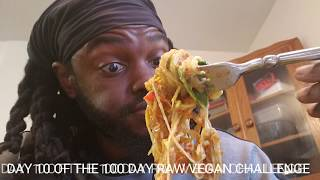 Day 10 of the 100 day raw vegan challenge