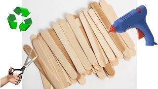 DONDURMA ÇUBUKLARI İLE YAPILABİLECEK 4 HARİKA FİKİR // TOP 4 Popsicle Stick Craft Compilation