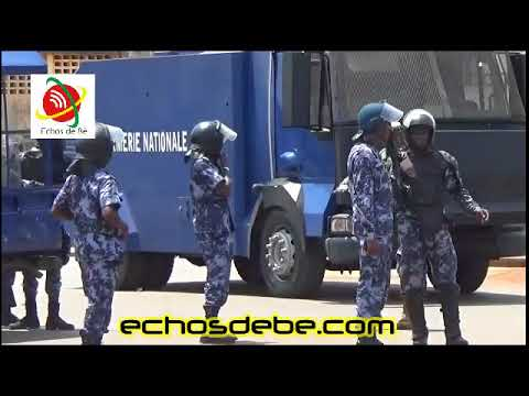 Echos de Bè: Les Manifestants dispersés à coup des gaz lacrymogènes au carrefour du stade d'Agoè
