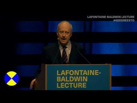 Michael Sandel delivers 15th LaFontaine-Baldwin Lecture at 6 Degrees Citizen Space