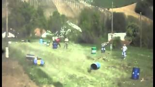 Blowing up 50 Gallon drums, funny stuff