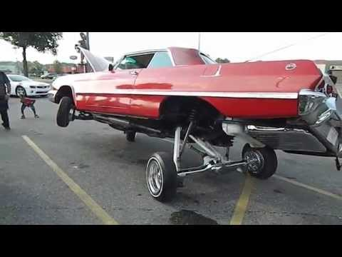 Whippaparazzi Candy Red 1963 Chevrolet Impala With Hydraulics Youtube