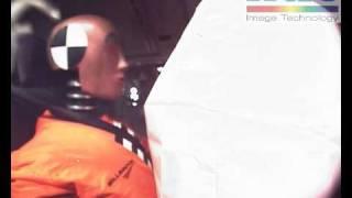 prueba de choque (bolsa de aire)