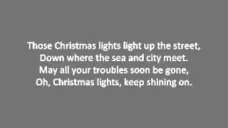 Coldplay - Christmas Lights Lyrics
