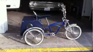 LOWRIDER BICYCLE CUSTOM AUDIO SYSTEM AL & ED'S MARINA