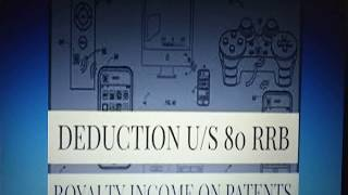 Deduction under section 80RRB