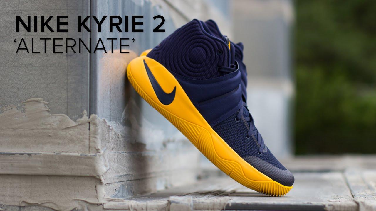 2e61ce3a263 Nike Kyrie 2  Alternate  Quick On Feet Look - YouTube