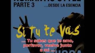 Nigga(Flex) - SI TU TE VAS  (con LETRA) Romantic Song2010!!!