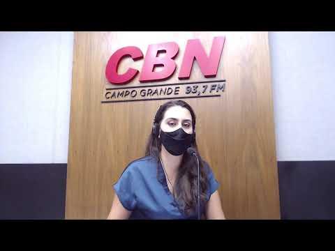 Programa CBN Campo Grande (08/04/2021) - com Ingrid Rocha