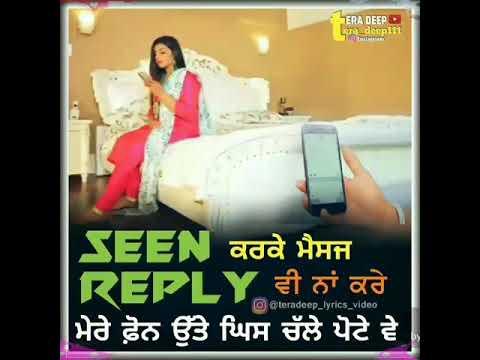 Careless chann    Rupinder Handa   Whatsapp Status   Tera Deep Mp3