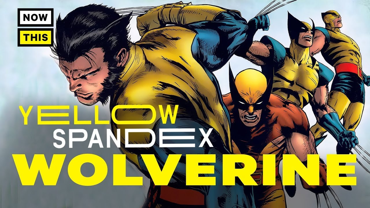 a44a5ff9164 The Design Evolution of Wolverine   Yellow Spandex #17   NowThis Nerd