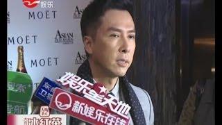 甄子丹Donnie Yen接演《卧虎藏龙2》