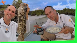 Minimal Gear - Solo Boat Camping - So many fish - Delicious Catch and Cook EP.507