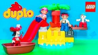 LEGOS JAKE NEVERLAND PIRATES Disney Jake Lego Duplo Treasure Island Toys Video