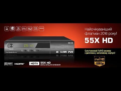 Обзор 50X HD - супер бюджетный спутниковый ресивер - YouTube