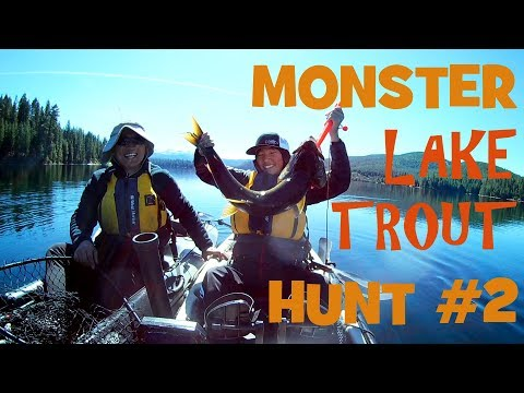 Monster Lake Trout (Mackinaw) Hunt 2