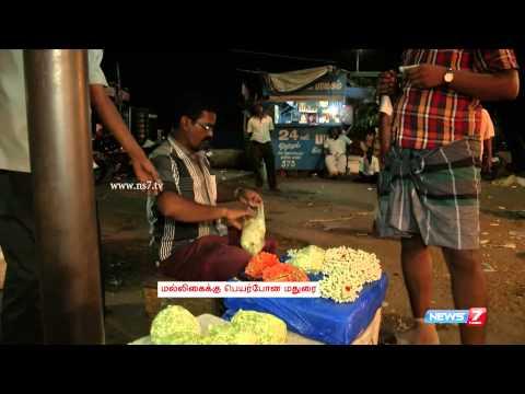 Weaving The 'Madurai Malli' (Jasmine)