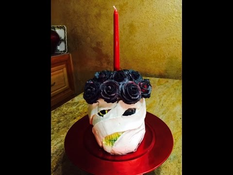 Mummy and Roses Center Piece-Halloween- Cake Decorating ...