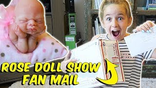 Opening the Most AMAZING Fan Mail EVER! ROSE Doll Expo | The Patsy Family