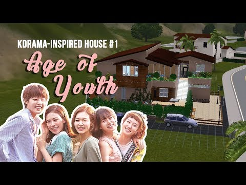 [The Sims 3] Age Of Youth | KDrama - Inspired House