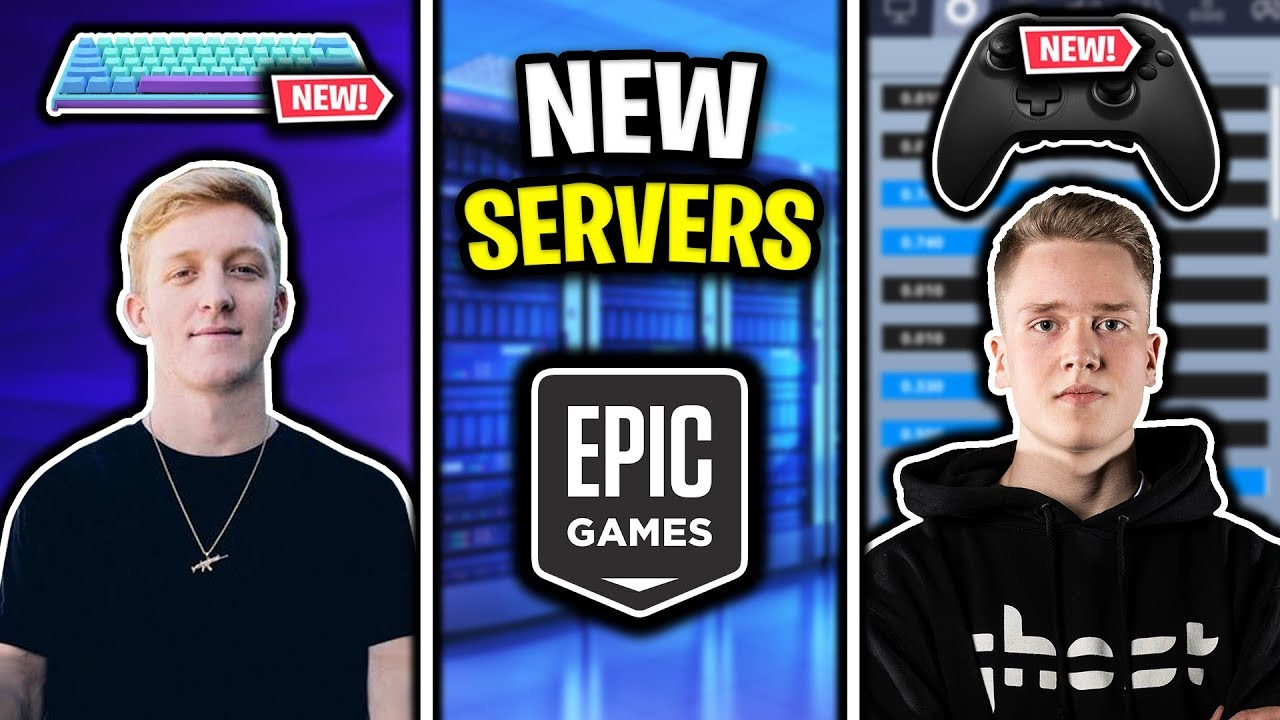 Tfue's NEW Keyboard, NEW Servers being added to Fortnite, Ghost Kamo NEW  Controller + Settings!