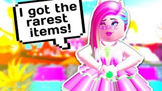 HOW TO GET THE RAREST ITEMS IN ROYALE HIGH 💍 // Roblox Royale High School