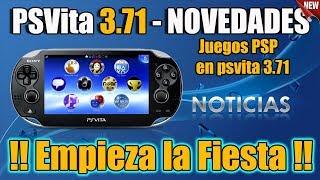 Novedades para PSvita 3.71 - PSP en 3.71 Oficial - NOTICIA