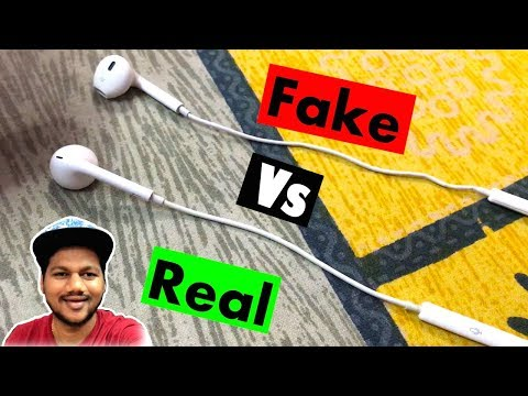 Apple Earphones Fake vs Real | Awesome Sound Quality in Just 200 Rupees