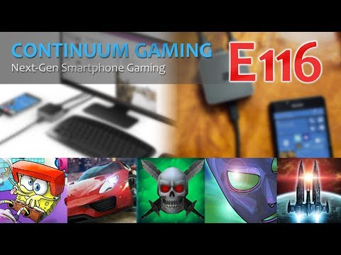 Microsoft Continuum Gaming: Let's Play 116! (Rally 1000, Flip Knife Flippy, The Dark Book)
