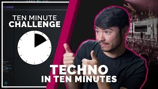 Techno In 10 Minutes! (10 Minute Challenge)