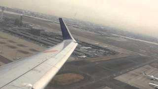 ANA B737-800 羽田空港離陸~函館空港着陸ノーカット