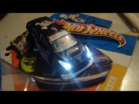 2011 Ford Fiesta >> 2011 Hot Wheels Ford Fiesta Ken Block with LED lights ...