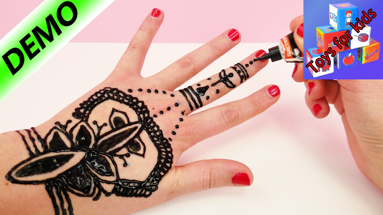 Henna Tattoo Hand Leicht Klein: Make Your Own Henna Tattoo!