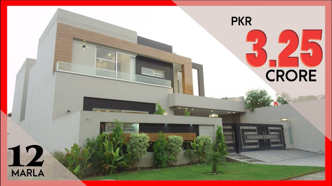 DHA LAHORE: 12 MARLA HOUSE FOR SALE IN PHASE 6 IN 3.25 CRORE
