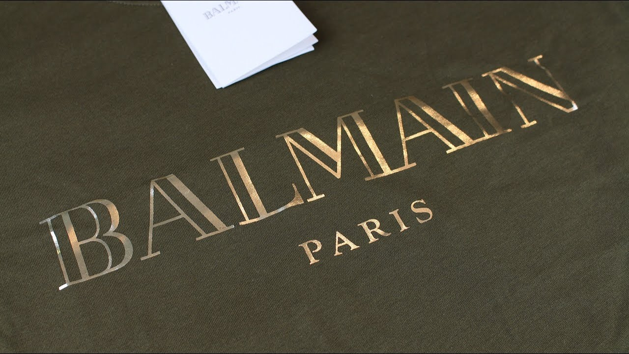 2017 BALMAIN T SHIRT FIT REVIEW + PROS & CONS | UNBOXING - YouTube