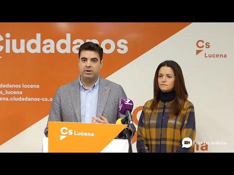 """VÍDEO: Ciudadanos es """"escéptico"""" sobre la voluntad del PSOE de estudiar sus propuestas al presupuesto municipal"""