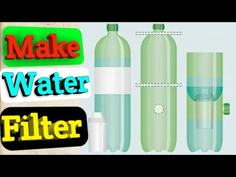 How To Make Water Filter From Plastic Bottle