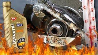 Mol Dynamic Star 5W30 Jak skutecznie olej chroni silnik? 100°C