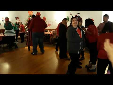 Christmas party in the program the guild for exceptional children