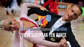 2016 European Ten Dance   The Two-In-One Final Reel   DanceSport Total