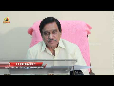 AP Deputy CM K E Krishnamurthy Exclusive Interview - Full Video