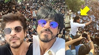 Shah Rukh Khan's All Birthday Celebrations With Fans At Mannat