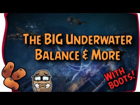 Guild Wars 2 - Underwater Update Is Here! Un-Splits & More Balance With Boots