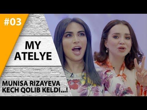 My Atelye 3-son Munisa Rizayeva Kech qolib keldi va shoshilib ketib qoldi!  (21.07.2019)